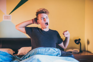 How do I know if my teenager isn't sleeping well?