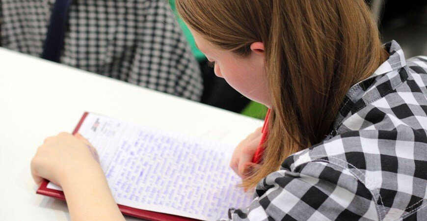 Teenage girl writing stuff - activity ideas for teans