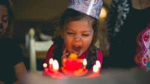 Ideas for celebrating your child's birthday at home